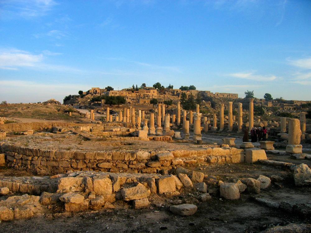 Ruinas-de-Umm-Qays