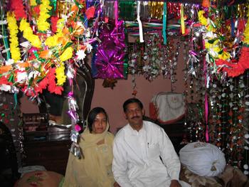 Preparando la boda Punjabí