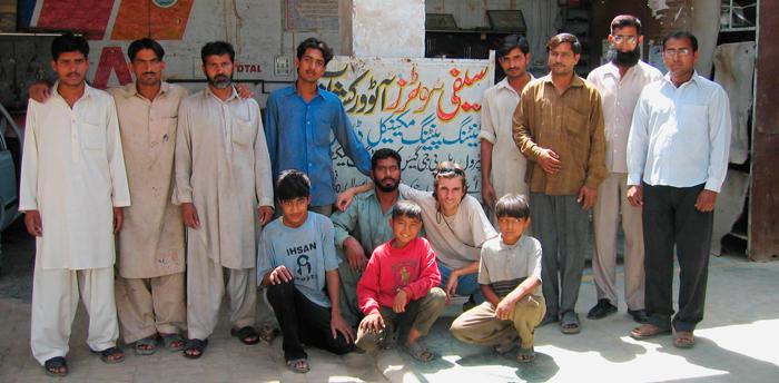 El equipo de Munir