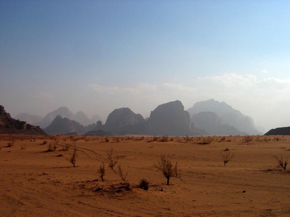 Siluetas-en-Wadi-Rum