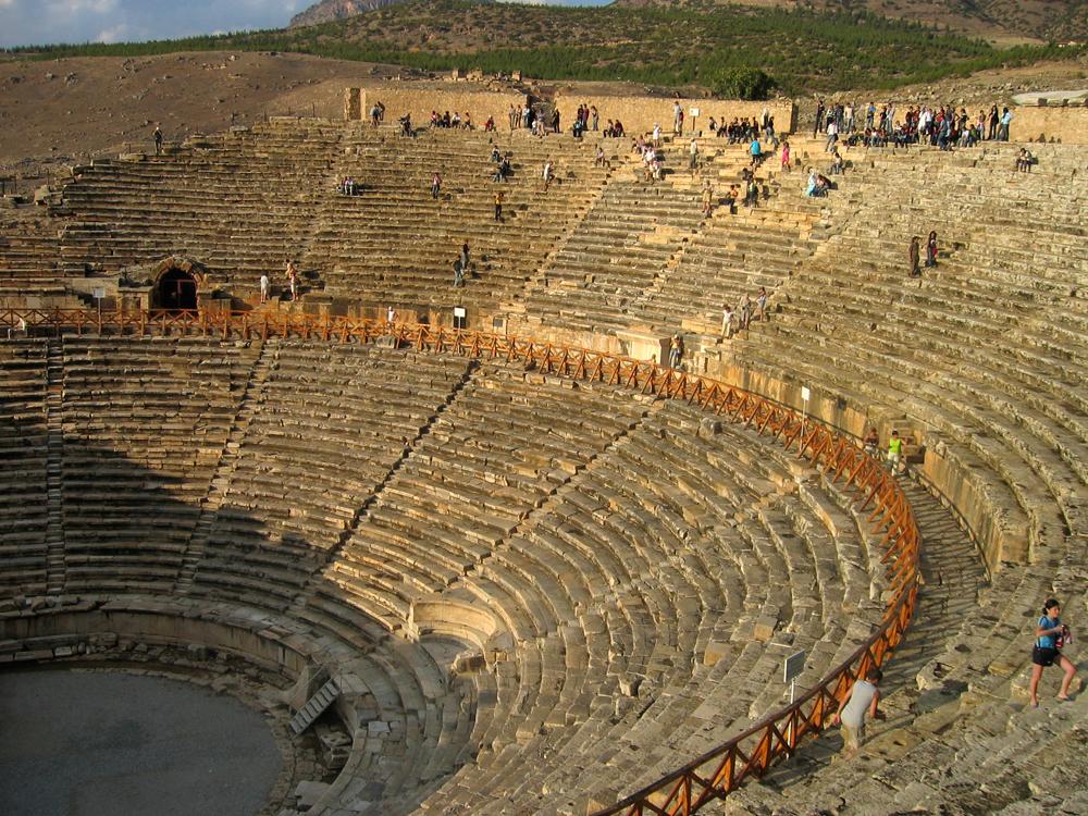 Teatro-en-Hierapolis