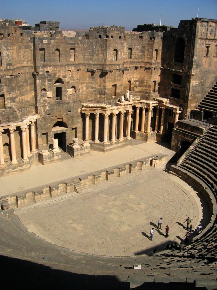 Teatro-romano-de-Bosra