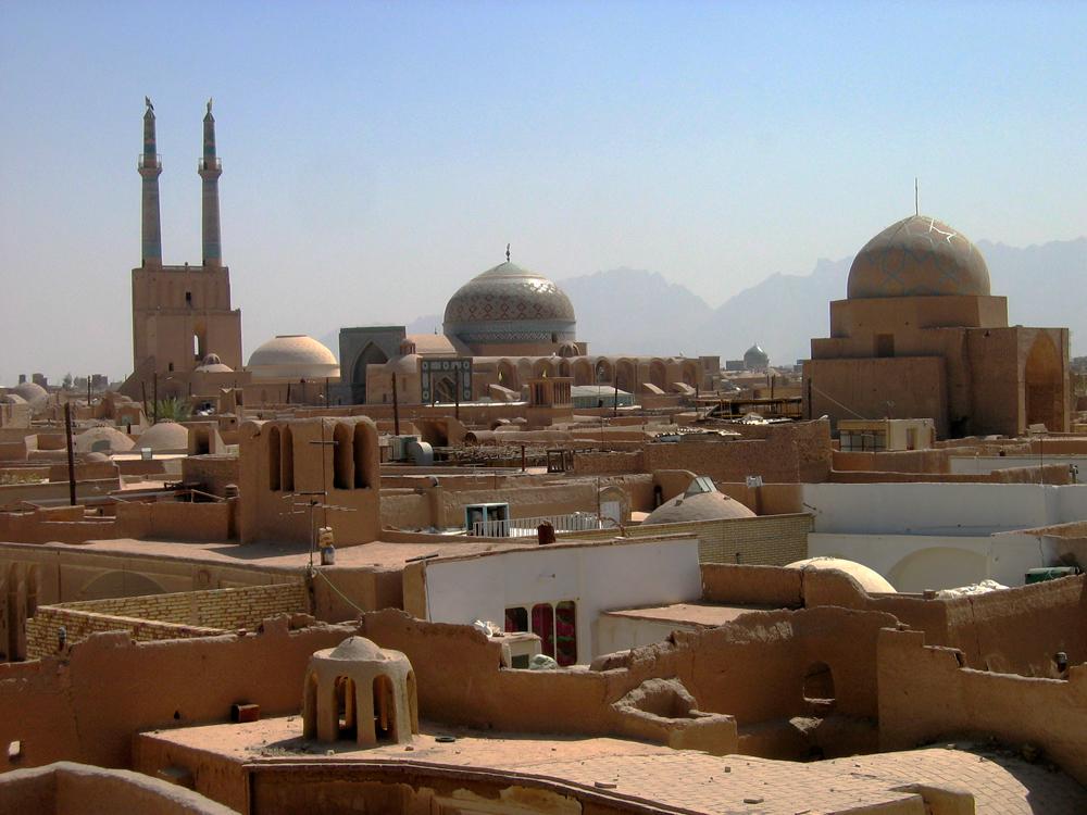 Tejados-en-Yazd