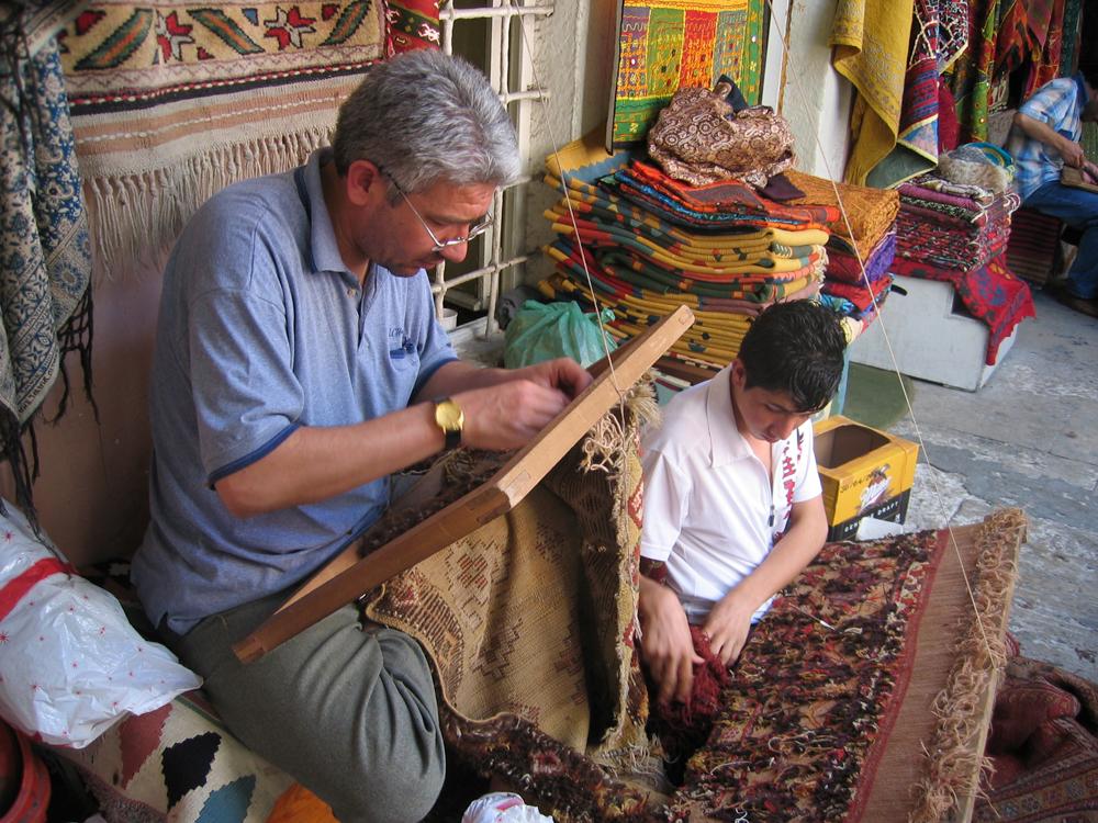 Tejiendo-alfombras