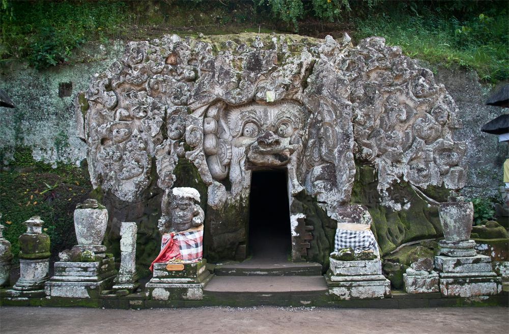 Templo-Goa-Gajah