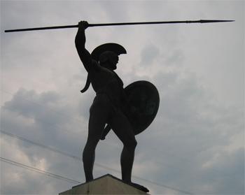 Leonidas, paso de las Termópilas