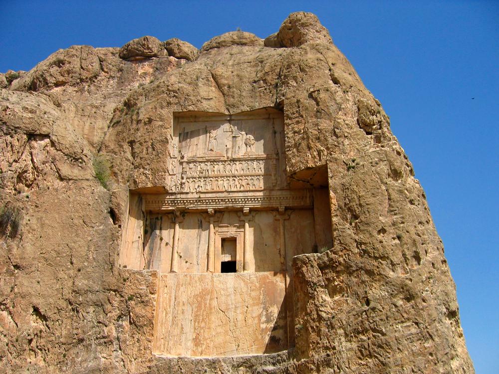 Tumba-de-Dario-II-en-Naqsh-e-Rustam
