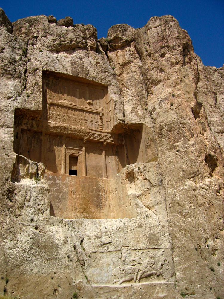Tumbas-de-reyes-aquemenidas-en-Naqsh-e-Rustam-III