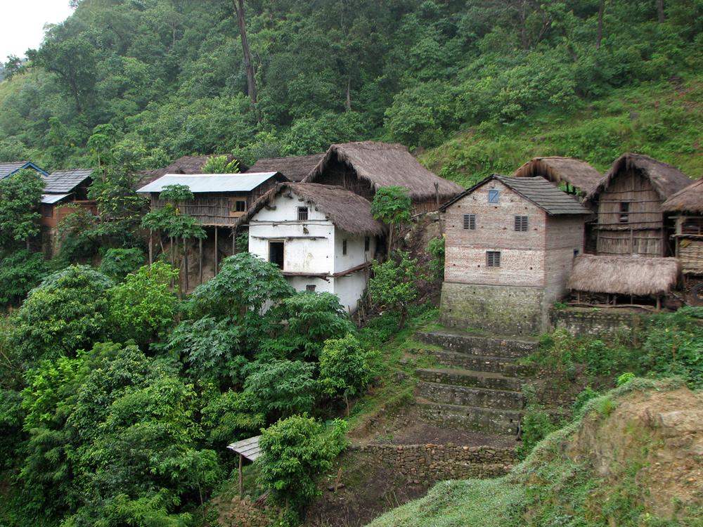 Una-aldea-en-Terai