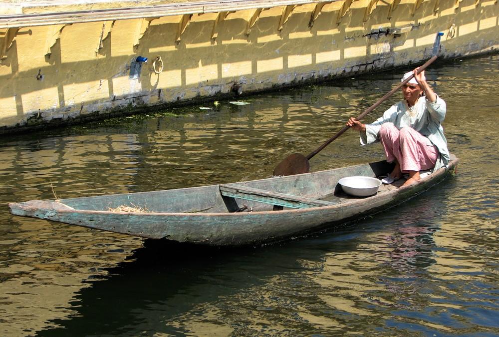 Canales en Srinagar