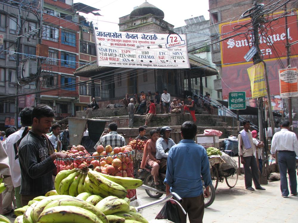 Una-calle-de-Katmandú-II