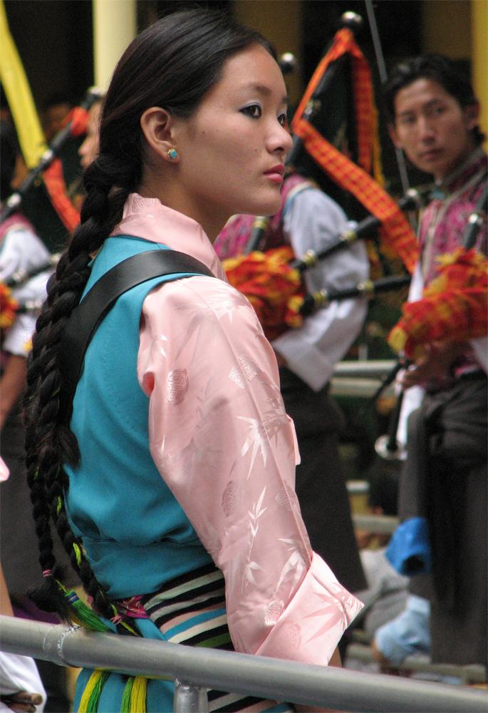 Una-joven-tibetana