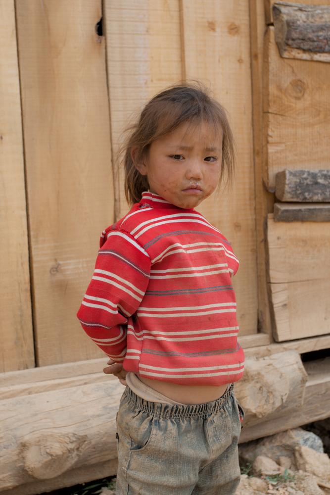 Una-niña-en-Zhongdian