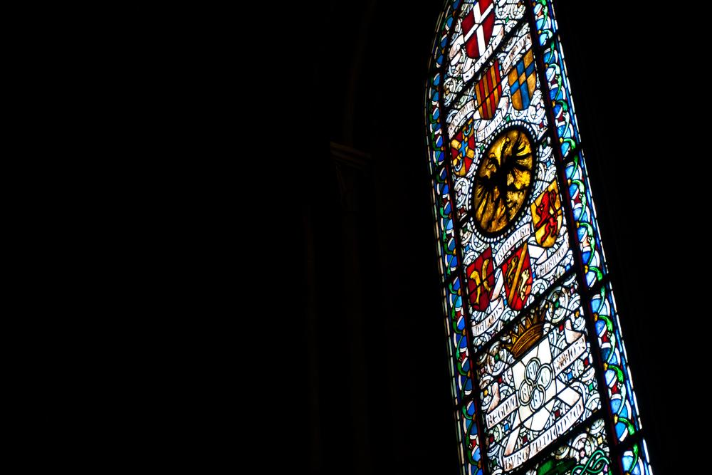 Vidriera-de-la-catedral de Lausana