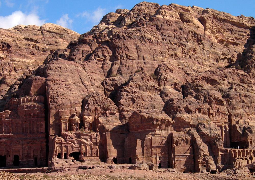 Vista-parcial-de-Petra