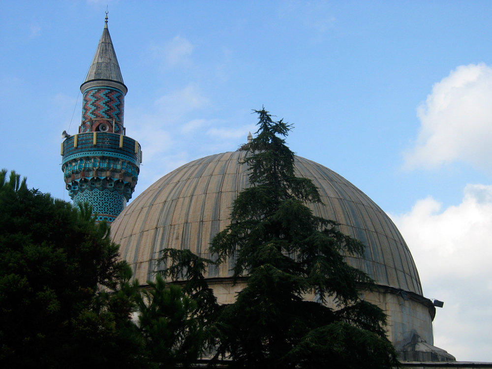 Yesil-cammi-o-mezquita-verde-en-Iznik
