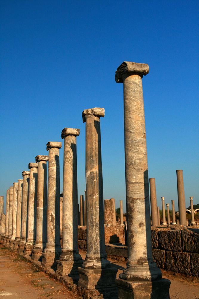 Columnas-jónicas-en-Perge