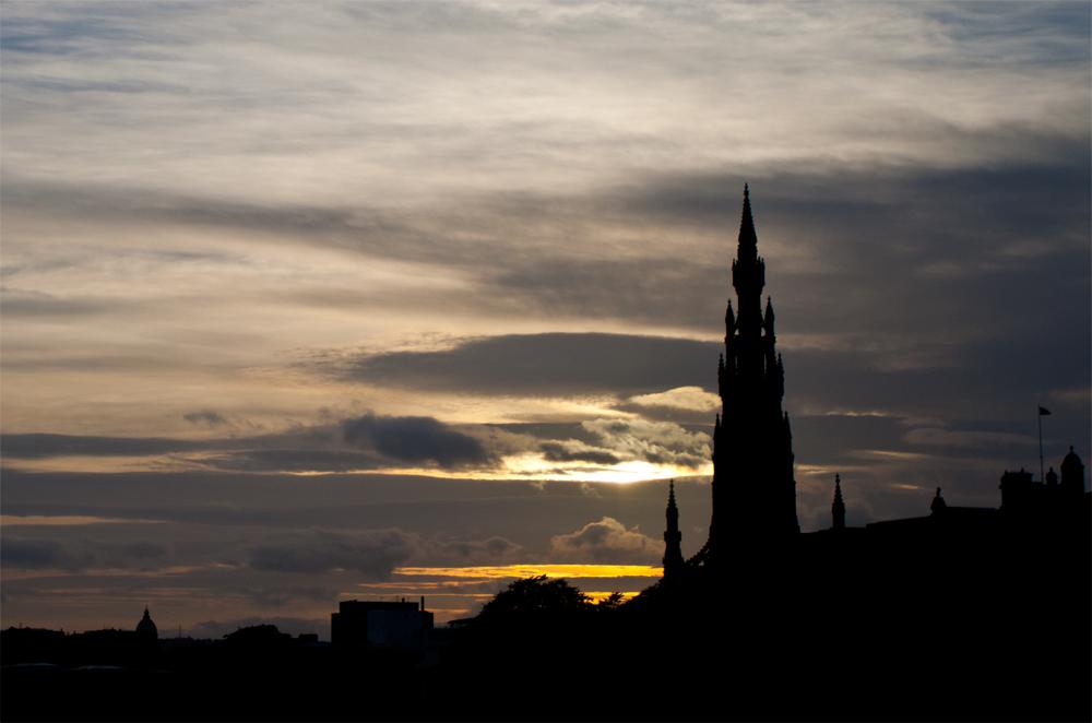 Silueta-de-Edimburgo