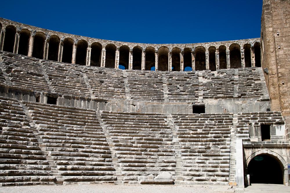 Teatro-romano-de-Aspendos
