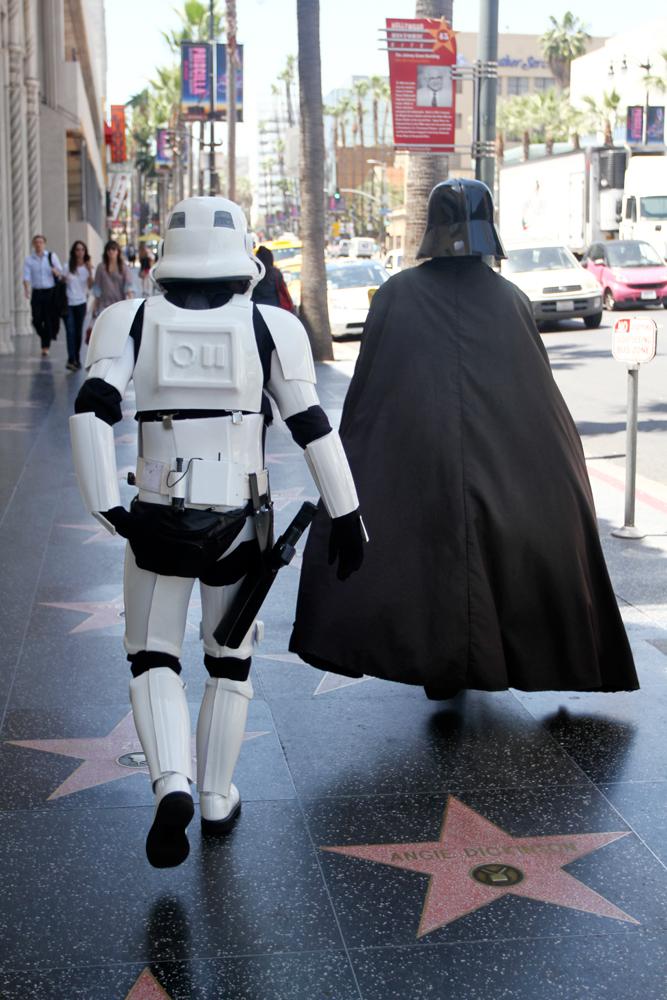 Darth-Vader-en-el-paseo-de-la-fama