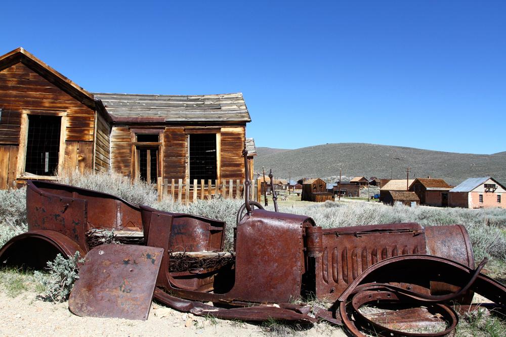 Bodie, oeste abandonado