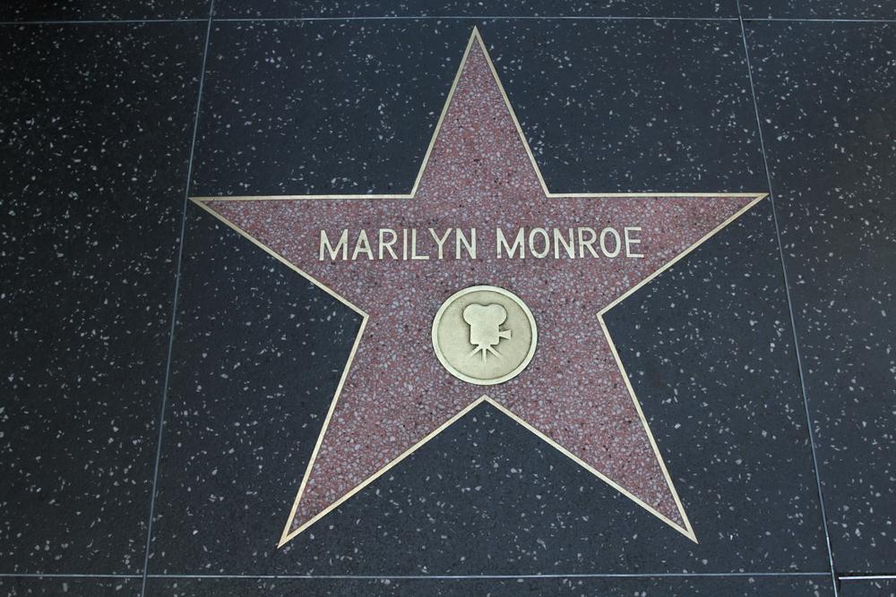 La-estrella-de-Marilyn-Monroe