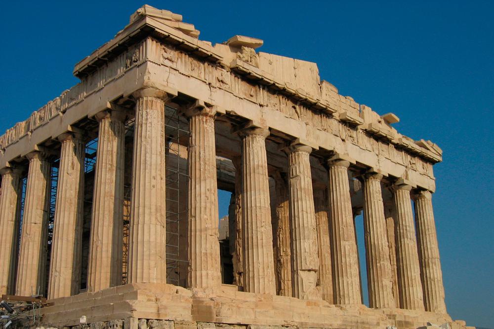 Acrópolis-de-Atenas-(Partenon)