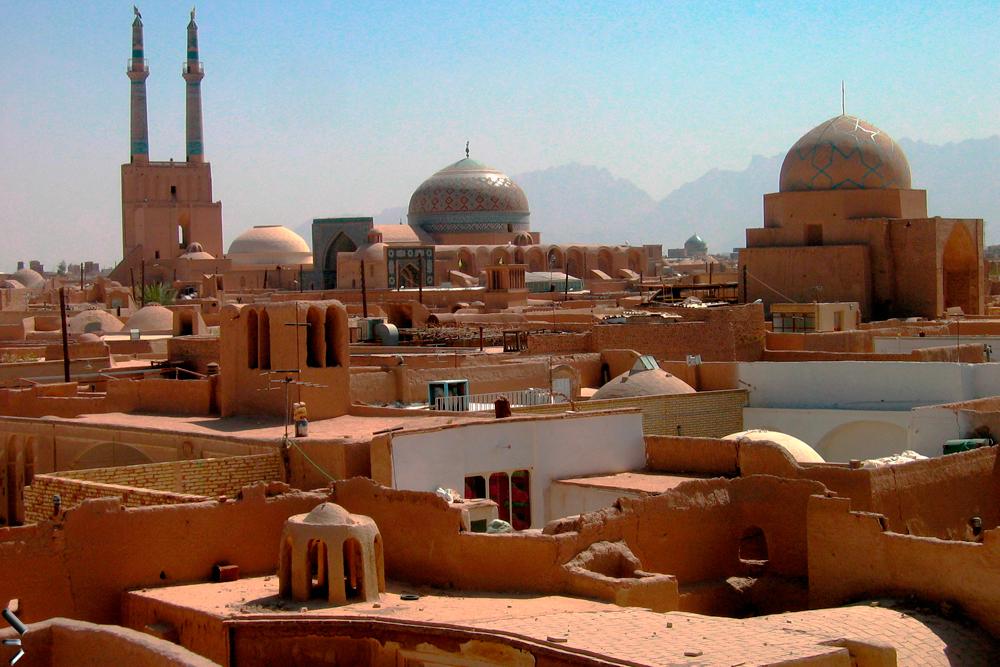 Adobe-en-Yazd-Iran