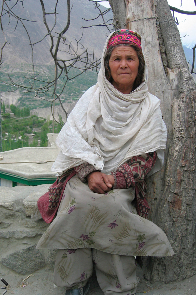 Anciana-Hunzakhut-en-Pakistán