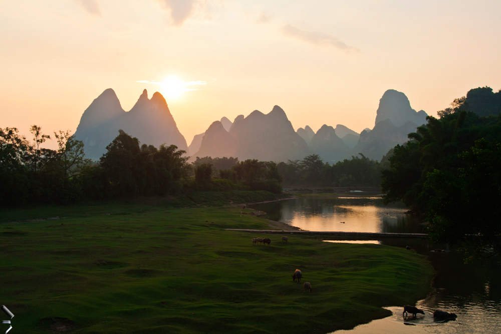 Atardecer-de-Fuli-en-China