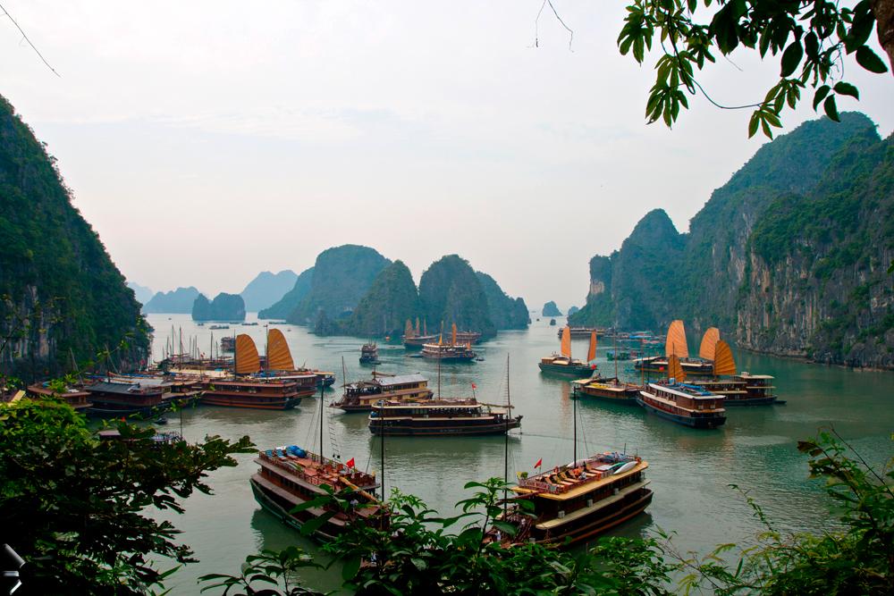Bahía-de-Halong-en-Vietnam