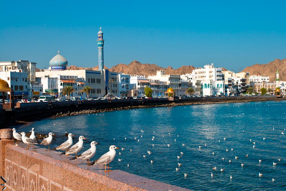 Bahía-de-Mutrah-en-Omán