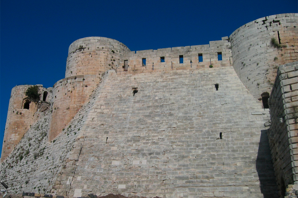 Castillo-del-Crac-de-los-caballeros-en-Siria