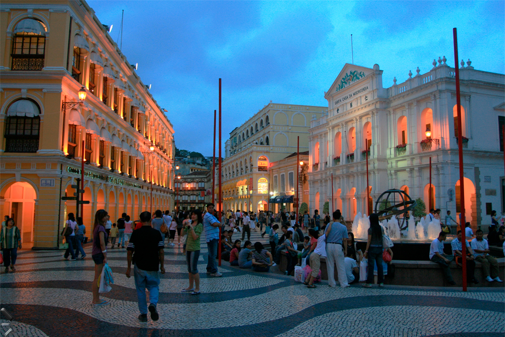 Centro-histórico-de-Macao-en-China-(Largo-do-senado)