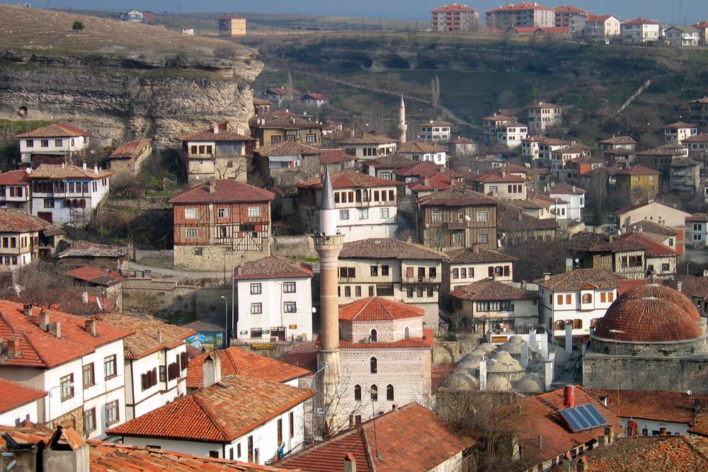 Arquitectura otomana en Safranbolu