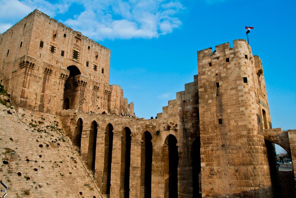 Ciudad-vieja-de-Alepo en Siria