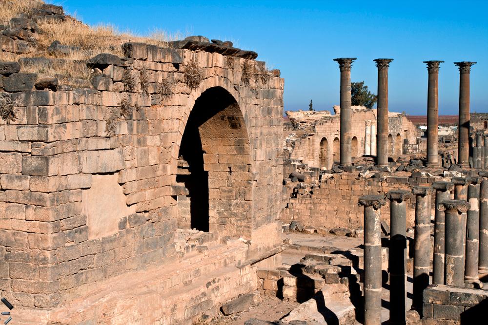 Ciudad-vieja-de-Bosra-en-Siria