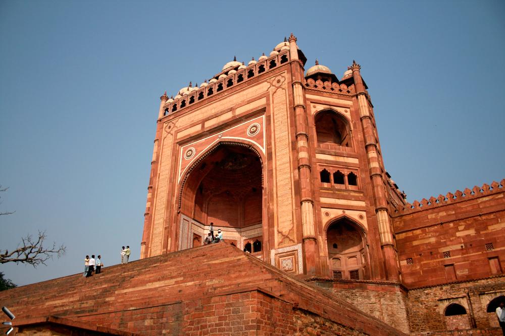 Fathepur-Sikri-en-India-(Puerta-de-la-Victoria)
