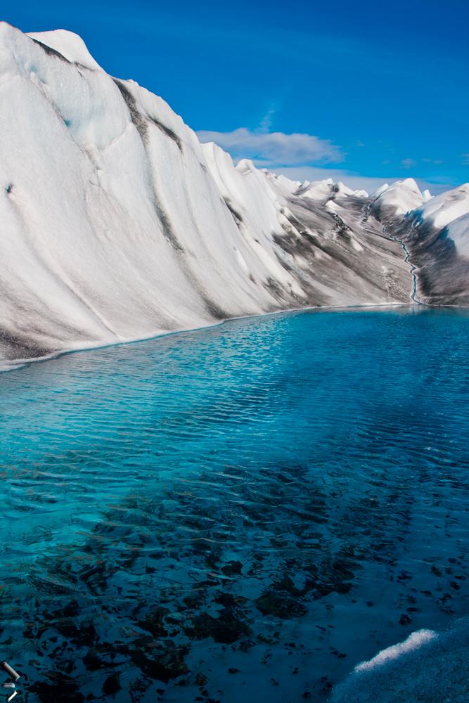 Lago-de-Fusión-en-Groenlandia