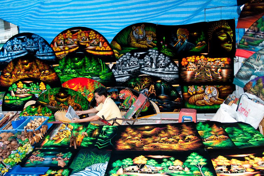 Mercado-de-Chiang-Mai-en-Tailandia