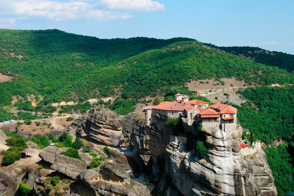 Meteora-en-Grecia