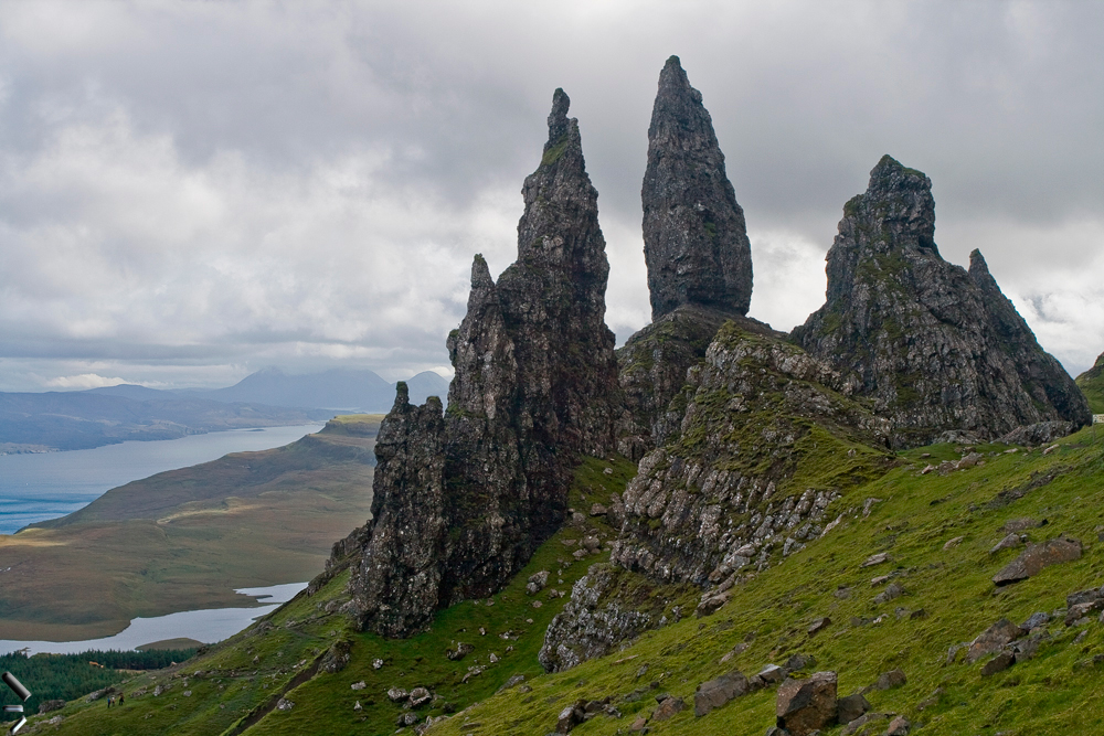 Old-man-of-Storr-en-la-Isla-de-Skye-en-Escocia