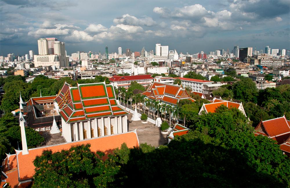 Bangkok, energía desbordada