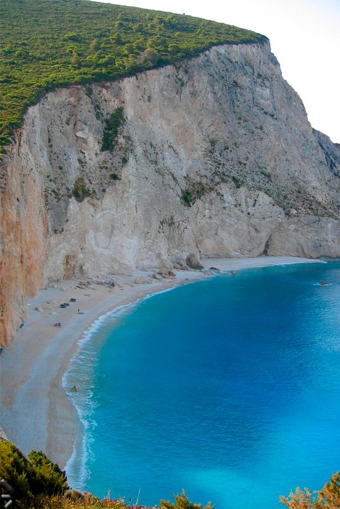 Playa-de-Porto-Katsiki-de-la-Isla-de-Leucada-en-Grecia