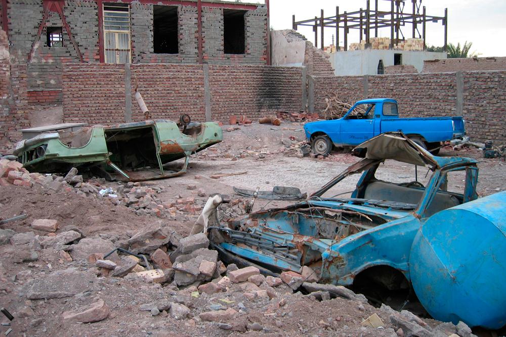 Restos-del-terremoto-de-Bam-en-Iran