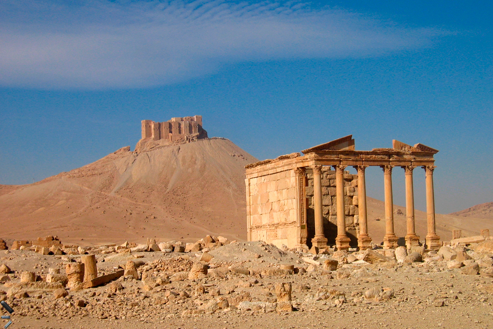 Sitio-arqueológico-de-Palmira-en-Siria