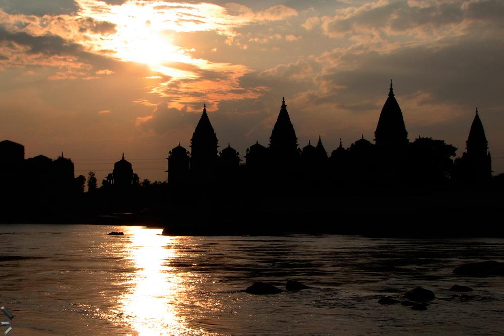 Templos-de-Orcha-en-India