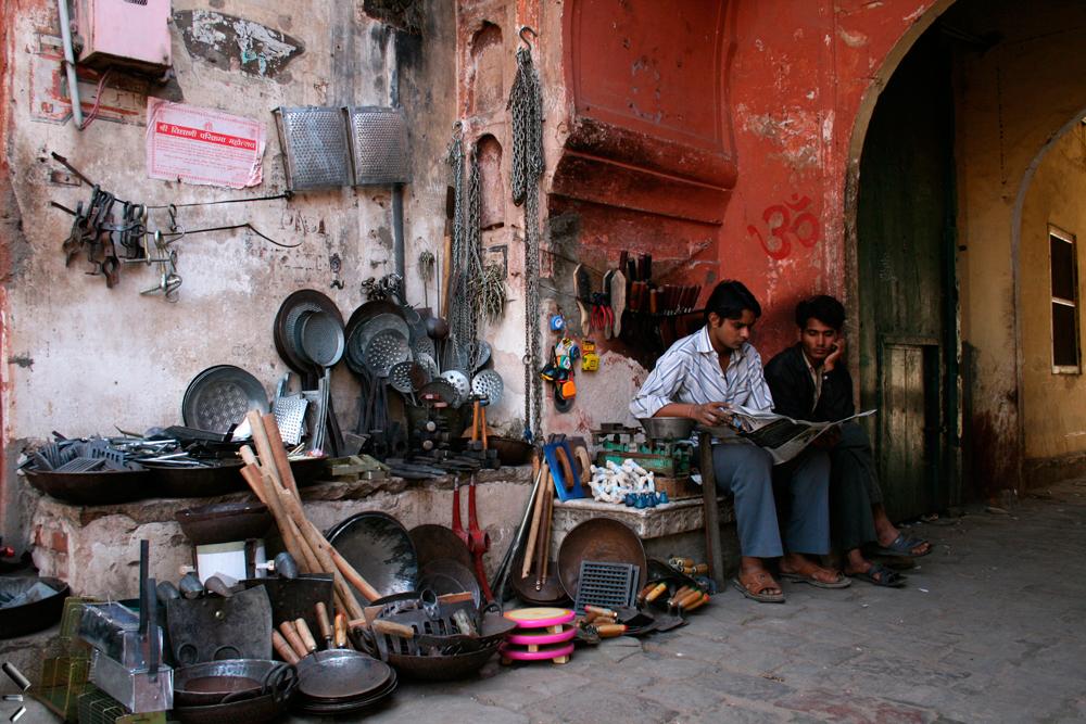 Una-calle-de-Jaipur