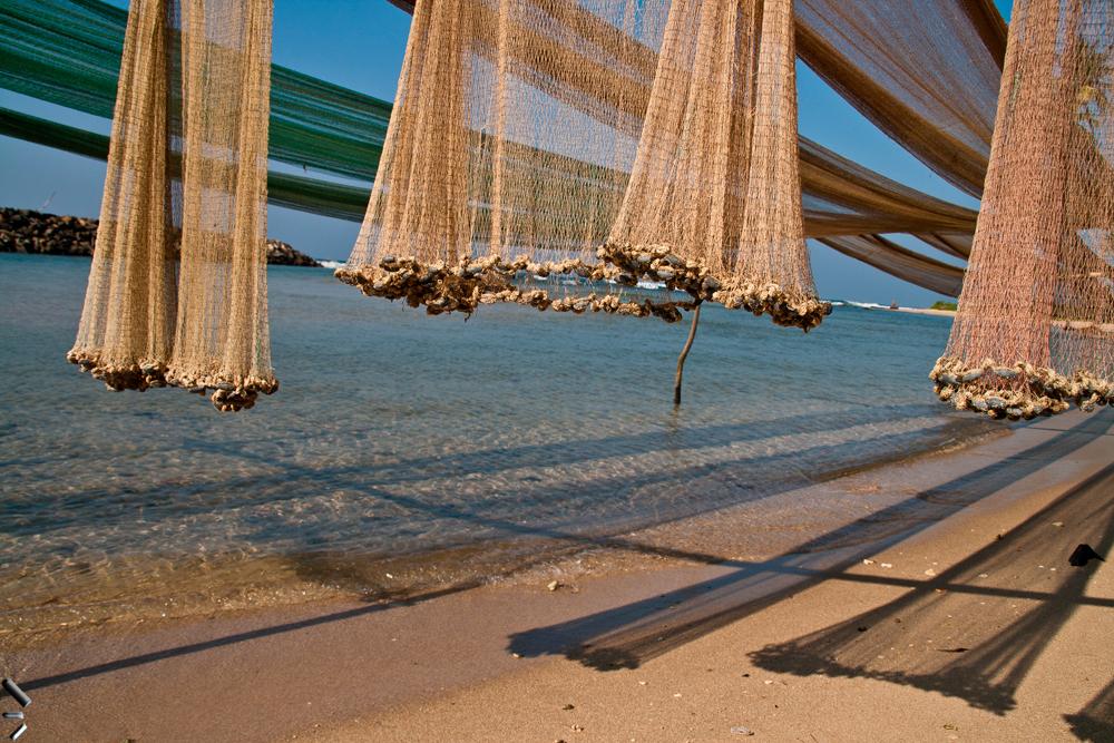 Unas-redes-de-pesca