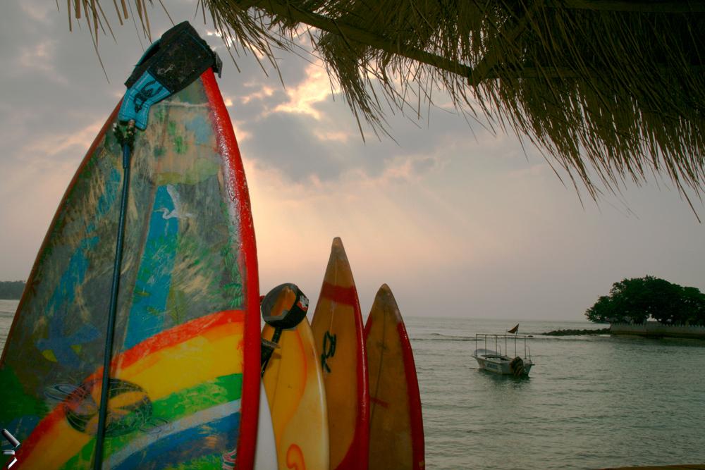 Unas-tablas-de-surf